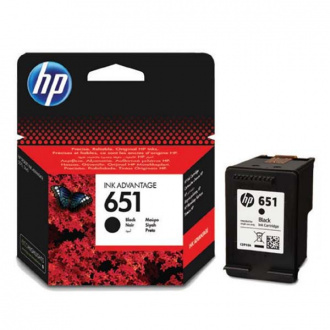 HP 651 (C2P10AE#BHK) - Cartuș, Black (Negru)