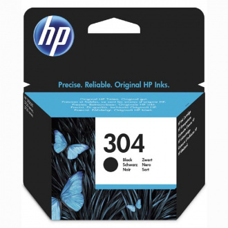 HP 304 (N9K06AE) - Cartuș, Black (Negru)