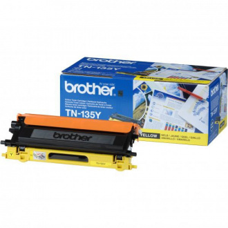 Brother TN-135 (TN135Y) - Toner, Yellow (Galben)