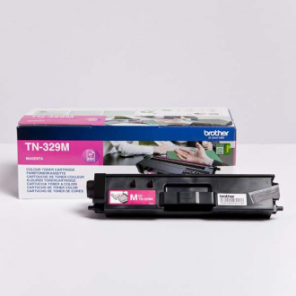 Brother TN-329 (TN329M) - Toner, Magenta (Purpuriu)