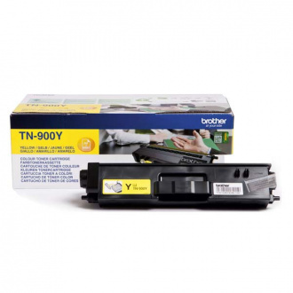 Brother TN-900 (TN900Y) - Toner, Yellow (Galben)